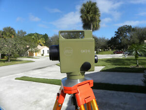 Kern Gk 2a Universal Automatic Surveying Precision Level And Metal Tripod Incl