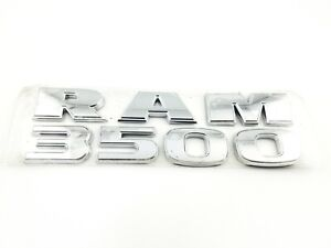 2009 2019 Dodge Ram 3500 Ram3500 Side Door Emblem Badge Symbol Logo Oem 2015