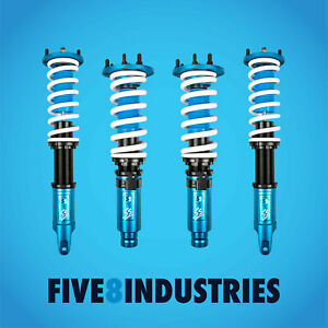 For 08 12 Honda Accord Ex V6 Five8 Industries Coilovers Height Adjustable Kits