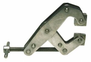 Kant twist Cantilever Clamp Stainless Steel Tumbled 2 Max Opening
