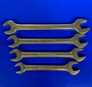 Vintage Blue point Supreme Wrench Set Of 4 s2024 S2426 S2628 S2830