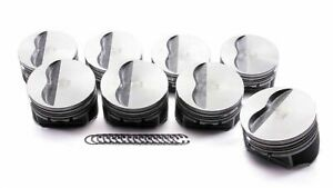 Kb 9911hc 030 Claimer Pistons 4 155 In Bore Sbc 400cu 8 Pcs Chevy 400