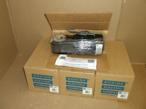 42r6bfpp gb h Bodine Electric Company New In Box Gear Motor Right Angle 60 1