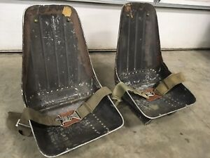 Wwii Aircraft Bomber Seats Original Warbird Fighter Scta Hot Rod Rat Aluminum