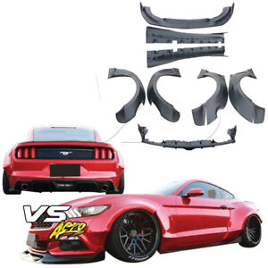 Vsaero Frp Rbot Wide Body Kit For Ford Mustang 15 17