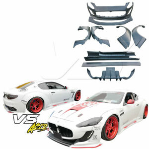 Vsaero Frp Lbpe Wide Body Kit For Maserati Granturismo 08 13