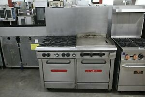 Southbend Double Oven W 24 Griddle 2 Burners