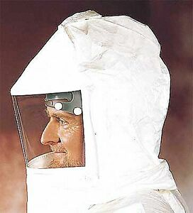 Bullard Double Bib Hood White For Use With Papr Or Supplied Air Respiratory