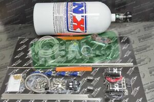Nitrous Express 4cyl Efi Direct Port 100 250hp Kit W 10lb Bottle Nx 80004efi 10
