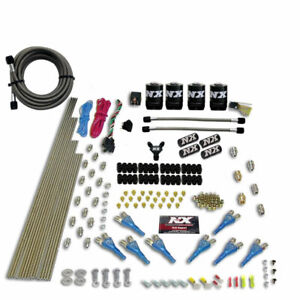 Nitrous Express 8cyl Shark Direct Port Kit Without Bottle Nx 90006 00