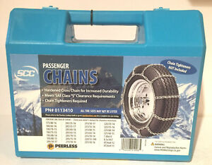 Peerless Snow Tire Chains For Passenger Vehicle New