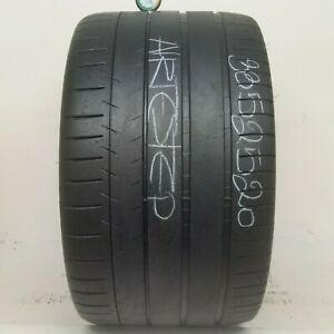 1 Tire 335 25 20 Michelin Pilot Super Sport Rft 5 00 5 50 32 64 70 Tread