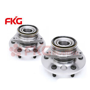 Front Wheel Bearing Hub For 88 94 Chevy Gmc K1500 K2500 Yukon 6 Lug 4wd 515001x2
