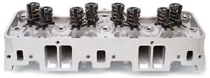 Edelbrock 60819 Performer Rpm 348 409 Chevy Cylinder Head Complete