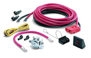 Warn 32966 24 Ft Winch Power Cable For Rear Mounting Of Portable Winch