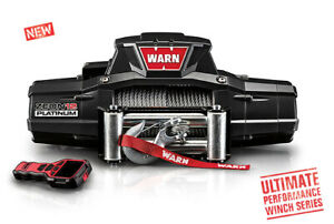 Warn 92820 Zeon R 12 Platinum Vehicle Recovery Winch 12k Pull 80 Ft Wire Rope