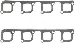 Fel pro Small Block Ford Exhaust Manifold header Gasket 2 Pc P n 1433