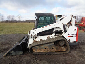 2013 Bobcat T770 Cab heat air High Flow Sticks pedal Kubota Diesel 2 950hrs