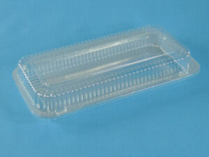 Plastic Danish Container Holds 5 1 4 X11 3 4 Pan Lot Of 45 Free Ship