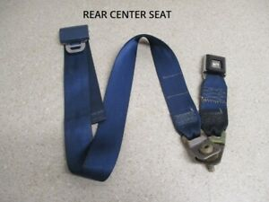 92 To 96 Ford F150 F250 Extended Cab Rear Center Seatbelt Seat Belt Buckle Oem