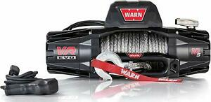Warn 103253 Vr10 s Winch 10000 Pound Line Pull 90 Ft Synthetic Rope Wired Remote