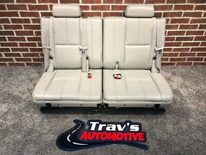 07 14 Chevy Tahoe Suburban Gmc Yukon Xl 3rd Row 50 50 Bench Seats Titanium