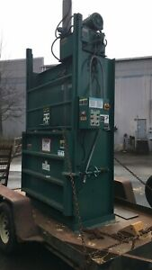 Selco Harris 10 Hp Baler Model V5r In Great Condition Used Cardboard Compactor