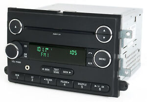 2008 09 Ford Mustang Radio Am Fm Mp3 Cd Player W Auxiliary Input 8r3t 18c869 Ag