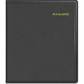 At a glance Refillable Multi year Monthly Planner 9 X 11 White 2020 2024