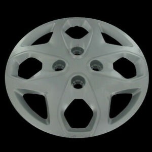 For 2011 2012 Ford Fiesta 15 Silver Hub Caps Wheel Cover Replacement Set Of 4