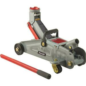 Pro lift 1 1 2 ton Compact Trolley Floor Jack F 2315pe 1 Each