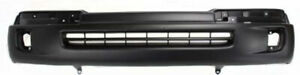 Primed Front Bumper Cover Replacement For 1998 2000 Toyota Tacoma