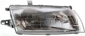 Right Passenger Side Headlight Head Lamp For 1997 1998 Mazda Protege