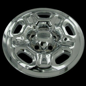 For 05 14 Toyota Tacoma 15 Chrome Wheel Skin Hubcap Hub Cap Covers Set Of Four