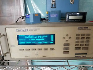 Fluke Ruska Model 7000 Digital Pressure Indicator 5 5 Psi Differential
