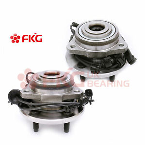 Front Wheel Hub And Bearing 5 Lugs For 2002 2007 Jeep Liberty Wabs 513176 513177
