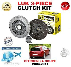 For Citroen C4 Coupe Picasso 5 Speed 1 6 Hdi 2004 2011 New Clutch Kit 3 Piece