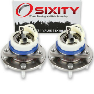 Pair 2 Front Wheel Bearing Hub Assembly For Oldsmobile Lss 1996 1999 Jy