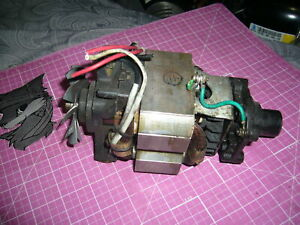 Complete Motor For Parts Or Rebuild Waring Wsb Blender Running Condition