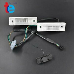 Rear Trunk Release Switch Licence Plate Lamp For Chevrolet Cruze 2011 2014 New