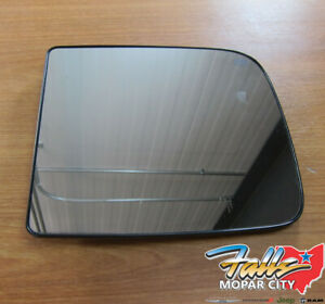 2011 2015 Dodge Ram Right Side View Tow Mirror Heated Replacement Glass New Oem
