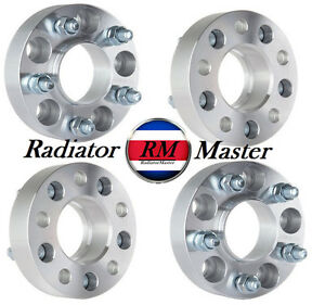 4pc 2 5x4 5 To 5x4 5 Wheel Spacers For Jeep Wrangler Cherokee Liberty