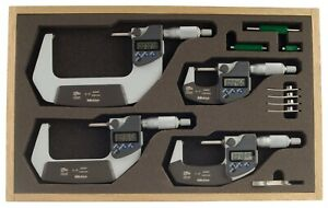 293 961 30 Mitutoyo Digital Micrometer Set 0 4