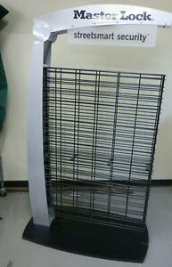 Large Gridwall slatwall Retail Display Rack Modern Style W grid Hooks