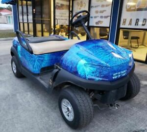 Compass Golf Cart Full Body Wrap For Club Car Precedent