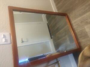Antique Genuine Cushman Colonial Creations Mirror 1954