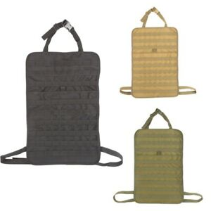 Car Seat Back Tactical Organizer Cover Storage Bag Molle Vehicle Panel Pouch Bag