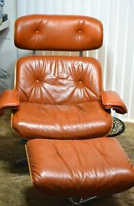 Vintage Mid Century Eames Reproduction Metalmobile Lounge Chair