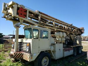 1981 Ingersoll Rand T4w 1050 350 Cat 3412 Deep Hole Drilling Rig Ir T4dh T4 Dh