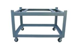 24x48 Surface Plate Castered Stand